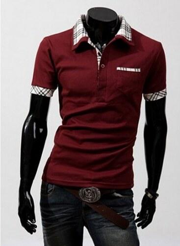 Pánské tričko Polo 2013 červené - červená