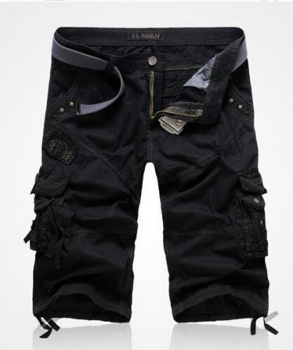 Pánské šortky Waga černé AKCE - černá