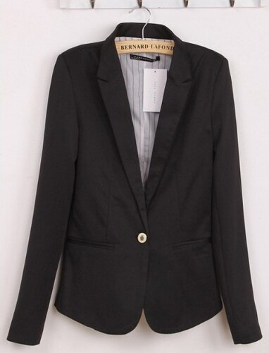 Dámské sako La-Togue černé - černá