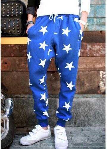 Pánské Kalhoty A-Star modré - modrá