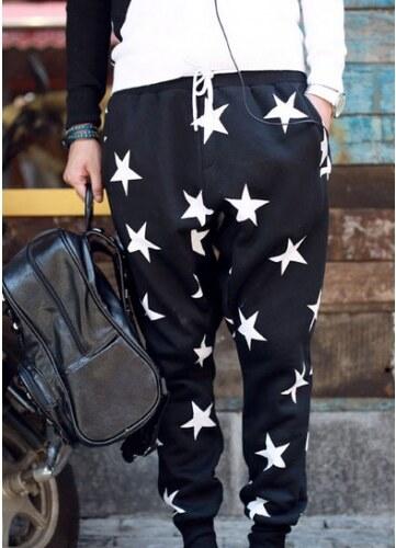 Pánské Kalhoty A-Star černé - černá