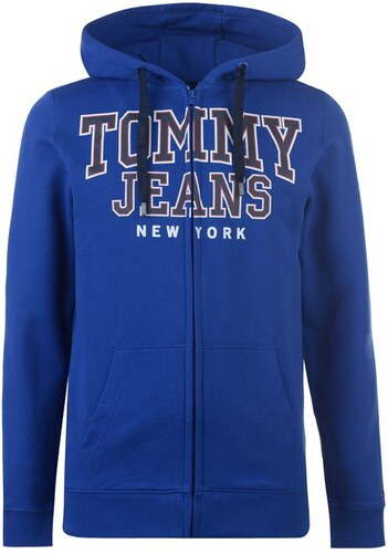 Pánská mikina Tommy Hilfiger Jeans Ess Modrá - Glami.sk 25f460e8e17