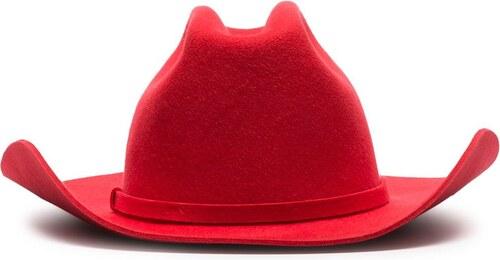 d6fbea5961f Calvin Klein 205W39nyc red felt cowboy hat - Glami.cz