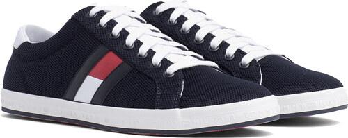 -5% Tommy Hilfiger modré pánske tenisky Essential Flag Detail Sneaker  Midnight e971426543d
