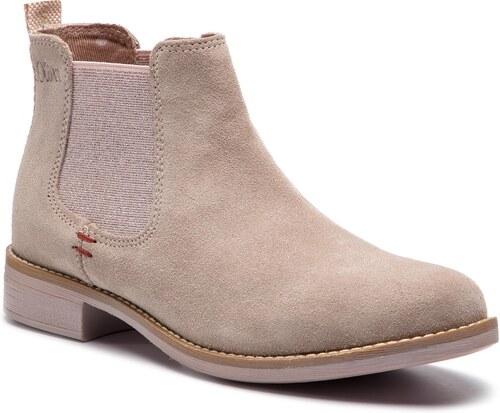 Kotníková obuv s elastickým prvkom S.OLIVER - 5-25335-32 Lt Rose 546 ... f2e8011d2fc