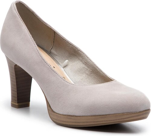 a399106611f61 Poltopánky TAMARIS - 1-22410-22 Stone Suede 203 - Glami.sk
