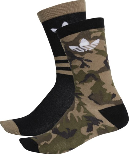 f811c5fc597 Nové adidas Originals Camouflage Ponožky Crew - 2 balenie   2 farby