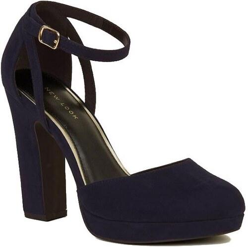 04103d95cf59 NEW LOOK Semišové sandále s platformou - Glami.sk