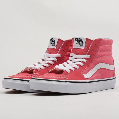 aab91194135a0 Vans SK8-HI strawberry pink / truewhite - Glami.cz