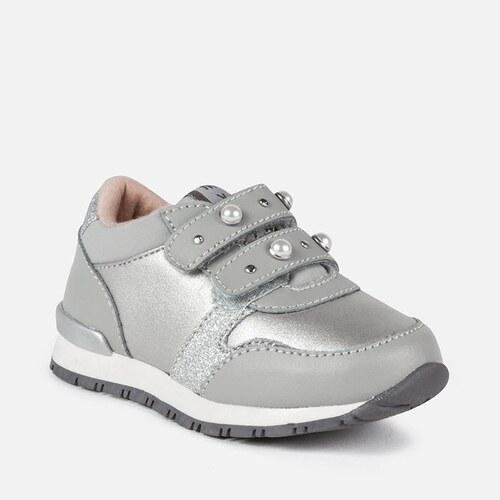 86dcad602fd03 MAYORAL dievčenská športová obuv 42852-084 silver - Glami.sk
