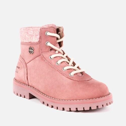 e01ec56e05dd Dievčenská kožená obuv MAYORAL 44835-051 flamingo - Glami.sk