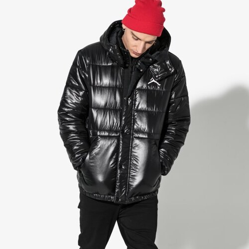 Nike Bunda Jordan Jumpman Puffer Jacket Muži Oblečenie Zimné Bundy Aa1957- 010 332a6f9e022