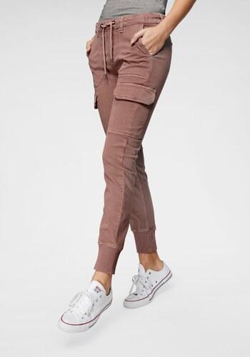 b5b1d7fe780 Pepe Jeans Kalhoty ve stylu tepláků »CRUSADE« matná růžová - Glami.cz
