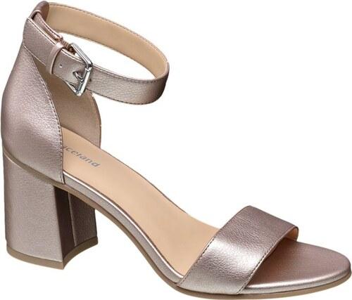 4cc056c811f2 Graceland Metalické sandále - Glami.sk