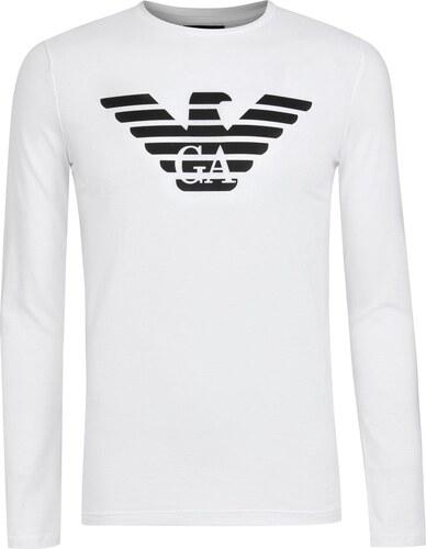 ccde5d56885d Tričko s krátkým rukávem Emporio Armani Logo T Shirt - Glami.cz
