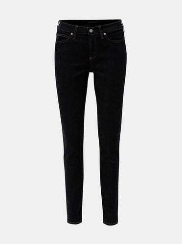 Calvin Klein Jeans tmavě modré dámské super skinny džíny L - Glami.cz 0ea55e0d5a