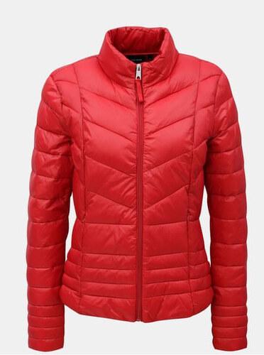 Vero Moda červená prošívaná bunda Sally S - Glami.cz 0356ca4e76