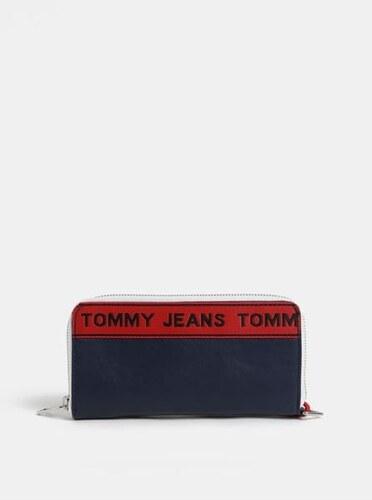 a3f97878bf5 Tommy Hilfiger tmavě modrá dámská peněženka s logem Tape - Glami.cz