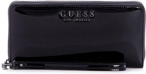 GUESS peňaženka Robyn Large Zip-Around Wallet čierna 655f7e26f11