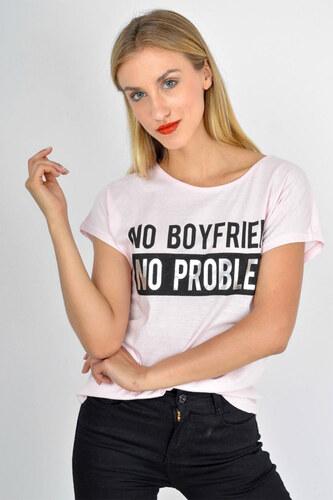 903c420b8d38 Rouzit Dámske tričko s nápisom
