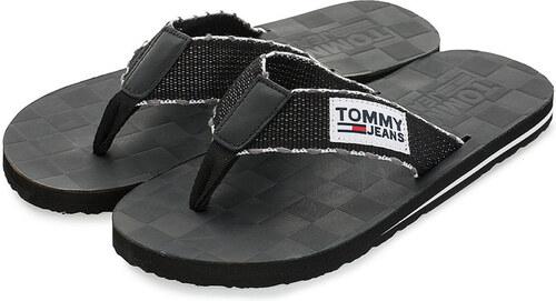 16d0fd599a7 Tommy Hilfiger pánské černé žabky - Glami.sk