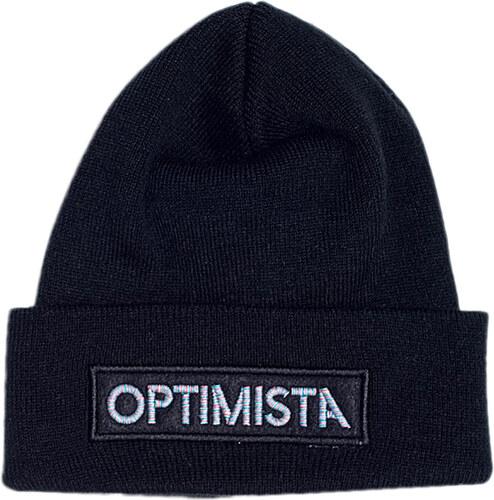 d51d5678a Čiapka OPTIMISTA-Zimná čiapka čierna - Glami.sk
