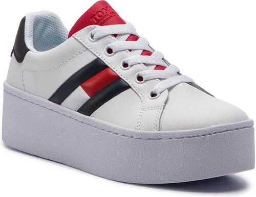 9528723246ea01 Sneakers TOMMY JEANS - Icon Sneaker EN0EN00556 Rwb 020 - Glami.ro
