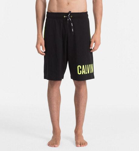 f7d8551b22 Calvin Klein pánske čierne šortky Jersey - Glami.sk