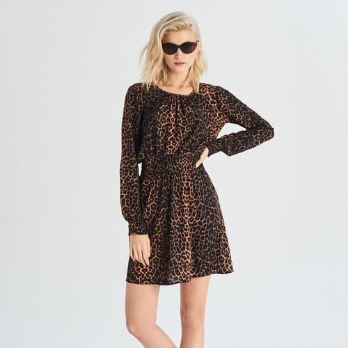 d5b79b47df Sinsay - Párducmintás ruha - Többszínű - Glami.hu