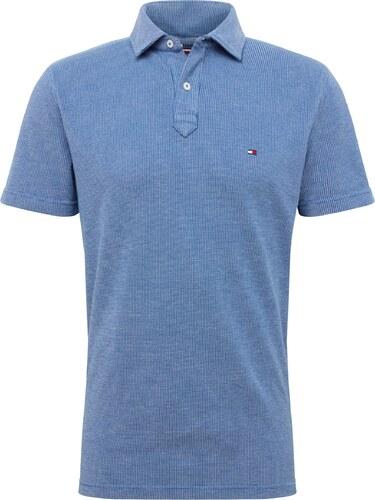 TOMMY HILFIGER Tričko  STRUCTURED  modrá   červená   bílá - Glami.cz e9453035d59