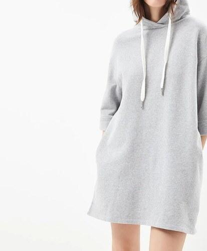 0385d31f5150 Tommy Hilfiger dámské šedé mikinové šaty Garment - Glami.cz