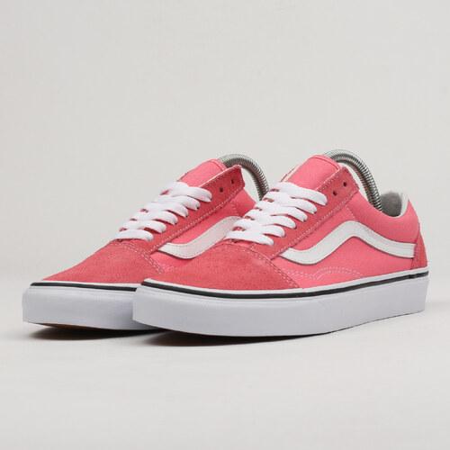 8017eef32c38b Vans Old Skool strawberry pink / truewhite - Glami.cz