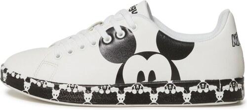 Desigual černo-bílé tenisky Shoes Cosmic Mickey - 36 - Glami.cz 5eaabc0daf