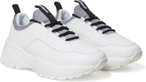 Desigual bílé tenisky na platformě Chunky Sneaker - 36 - Glami.cz e5bbd58a05