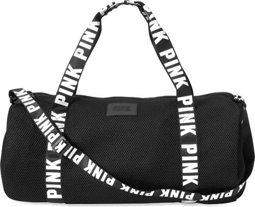 9fb7424883d51 Victoria´s Secret Victoria Secret Waffle mesh duffle taška na sport černá