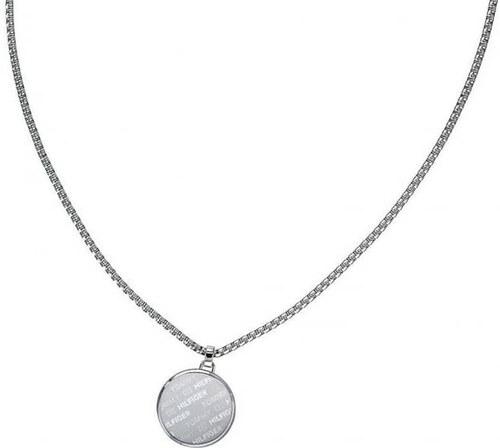 47aa40cf6 Tommy Hilfiger Ocelový náhrdelník s přívěskem TH2790037 - Glami.cz
