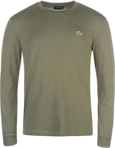 Pánské triko Lacoste Basic Zelené - Glami.sk cb8ceeeaa9a