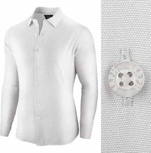 ed57ded0cb7a Seraph Biela bussiness pánska košeľa Essential Life - Glami.sk