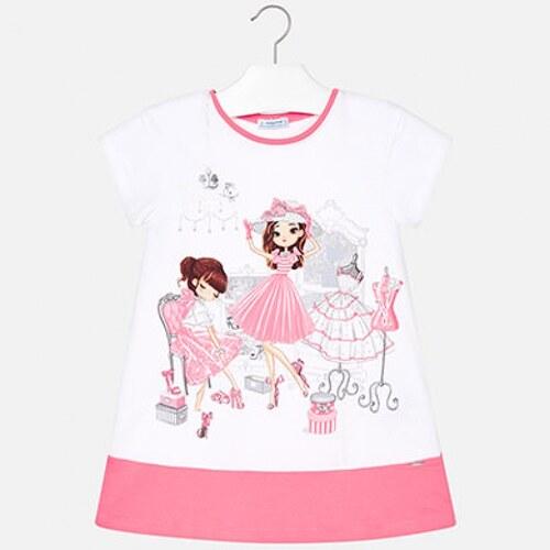 3b39627e1d70 Dievčenská tunika šaty s potlačou MAYORAL 3945-076 chewing - Glami.sk