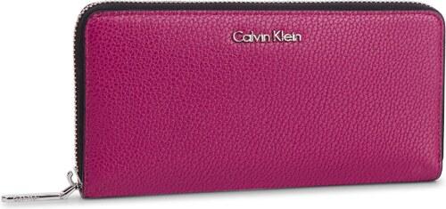 Veľká Peňaženka Dámska CALVIN KLEIN - Neat Large Ziparound K60K605101 510 07fb012a404