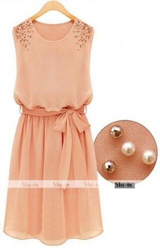 Dámské letní šaty Ina růžové - růžová