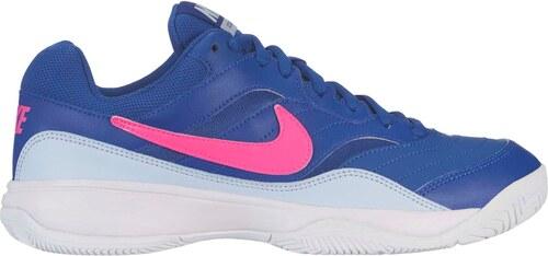 7bed6b0ac77 Nike Court Lite dámská tenisová obuv Blue Pink - Glami.cz