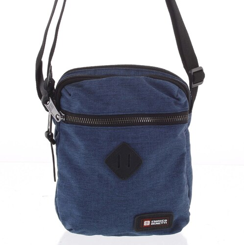 Čierna crossbody taška na doklady - Enrico Benetti Eddiee modrá ... 1f0aa08f794