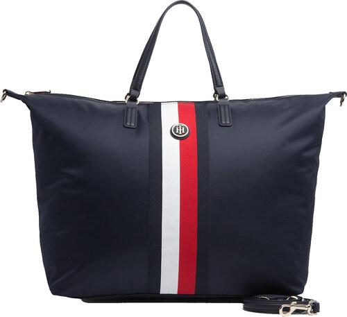 8dc0895a64889 Tommy Hilfiger modrá cestovná taška Poppy Weekender - Glami.sk