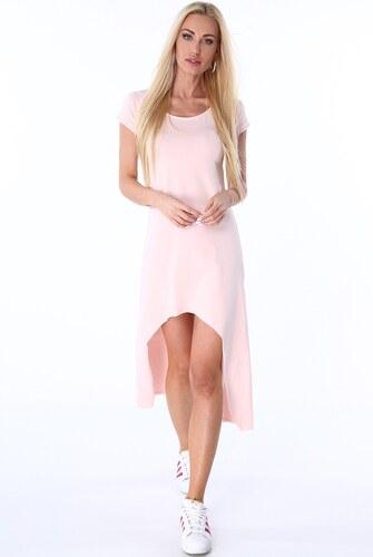 FASARDI Letné svetloružové šaty  XL - Glami.sk 47aacbb76f