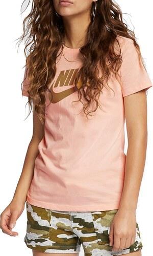 8998a4312ed8 Tričko Nike W NSW TEE ESSNTL ICON FUTURA bv6169-664 Veľkosť S - Glami.sk