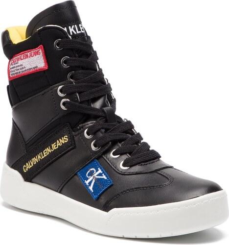 00b9626be4 Členková obuv CALVIN KLEIN JEANS - Niva R8068 Black - Glami.sk