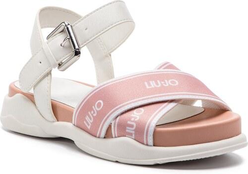 11b4a0d08f860 Sandále LIU JO - Star 01 B19039 TX039 Peach 31406 - Glami.sk