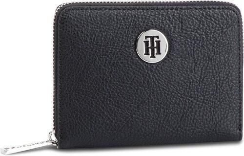 Nagy női pénztárca TOMMY HILFIGER - Th Core Comp Za Wallet AW0AW06502 002 b9e3133835