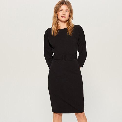 Mohito - Šaty s páskem - Černý - Glami.cz c0510b42843